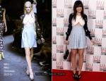 Runway To 2010 Elle Style Awards - Daisy Lowe In Miu Miu
