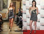 Runway To 2010 Elle Style Awards - Kristen Stewart In Emilio Pucci