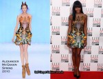 Runway To 2010 Elle Style Awards – Naomi Campbell In Alexander McQueen