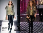 Runway To 60th Sanremo Music Festival - Jennifer Lopez In Balmain
