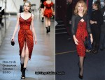 Runway To 'Miss Polly Rae: The All New Hurly Burly Show' - Kylie Minogue In Dolce & Gabbana