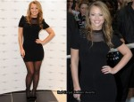 Kimberley Walsh Opens The New Look Oxford Street Flagship Store