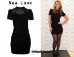 In Kimberley Walsh's Closet - New Look Eyelet Dress