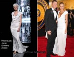 Runway To Allan Border Medal - Lara Bingle In Michelle Jank