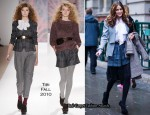 Runway To London Fashion Week - Olivia Palermo In Tibi