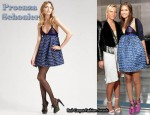 In Dasha Zhukova's Closet - Proenza Schouler Bustier Empire Dress