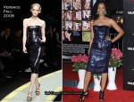 "Runway To ""Valentine's Day"" LA Premiere - Garcelle Beauvais In Versace"