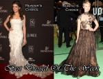 Best Dressed Of The Week - Anna Kendrick In Elie Saab Couture & Mia Wasikowska In Valentino Couture