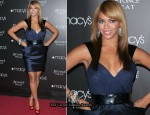"""Heat"" Macy's Herald Square Fragrance Launch - Beyonce Knowles In Rafael Cennamo"