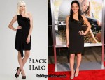 In Olivia Munn's Closet - Black Halo One Shoulder Dress
