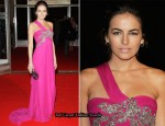 "Runway To ""Father Of Invention"" Berlin Film Festival Premiere - Camilla Belle In Marchesa"