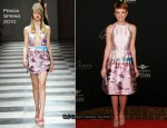 Runway To Virtuoso Awards - Carey Mulligan In Prada