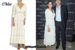 In Eva Mendes' Closet - Chloe Maxi Dress