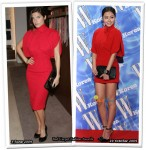 Who Wore Salvatore Ferragamo Better? Lake Bell or Hong Soo Hyeon