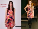 In Lauren Conrad's Closet - Nanette Lepore Exotic Plume Dress