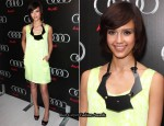 Jessica Alba Sports A New 'Do At The Audi Super Bowl XLIV Party
