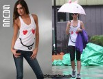In Katy Perry's Closet - Sauce Heart Eyes Racer Back Tank