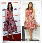 Who Wore Christian Lacroix Better? Sophie Kinsella or Eva Mendes