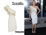 In Michelle Williams' Closet - Lanvin Asymmetrical Ruffle Dress