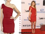 In Taylor Swift's Closet - Valentino Asymmetric Mini Dress
