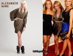 In Lauren Bosworth's Closet - Alexander Wang Army Cut-Out Dress