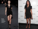 "Runway To ""My Fashion Database"" Launch Party - Zoe Saldana In Elie Saab"