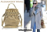 In Kate Bosworth's Closet - Alexander Wang Diego Suede Studded Bucket Bag