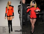 Runway To Sidewalk - Lady GaGa In Pam Hogg