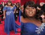2010 Oscars - Gabourey Sidibe In Marchesa