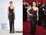 Runway To 2010 Oscars - Tina Fey In Michael Kors