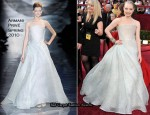 Runway To 2010 Oscars - Amanda Seyfried In Armani Privé