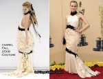 Runway To 2010 Oscars - Diane Kruger In Chanel Couture
