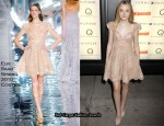 """The Runaways"" New York Premiere – Dakota Fanning In Elie Saab Couture"