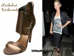 In Sarah Harding's Closet - Nicholas Kirkwood Strappy Sandals
