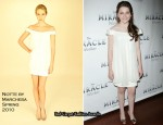 "Runway To ""The Miracle Worker"" After-Party - Abigail Breslin In Notte by Marchesa"