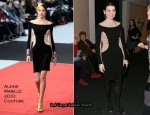 "Runway To ""City Island"" New York Screening - Julianna Margulies In Alexis Mabille Couture"