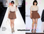 """Air Doll"" Press Conference - Bae Doo-na In Fendi"