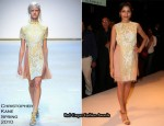 Runway To Lakme Fashion Week - Freida Pinto In Christopher Kane