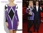 In Claudia Schiffer's Closet - Temperley London Harlequin Sweater Dress