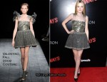 """The Runaways"" LA Premiere Red Carpet – Dakota Fanning In Valentino Couture"