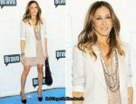 Bravo's Upfront Party Red Carpet - Sarah Jessica Parker In Stella McCartney