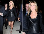 Jennifer Aniston Goes Back To Black
