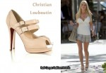 In Heidi Montag's Closet - Christian Louboutin Luly 140 Leather Sandals