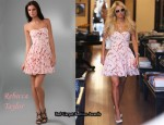 In Paris Hilton's Closet - Rebecca Taylor Pink Corset Dress