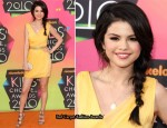 2010 Nickelodeon Kids' Choice Awards - Selena Gomez In Christian Cota