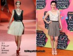 2010 Nickelodeon Kids' Choice Awards - Danielle Bisutti In 3.1 Phillip Lim