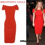 In Jessica Simpson's Closet - Giambattista Valli Red Dress