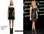 """The Bounty Hunter"" Madrid Premiere - Jennifer Aniston In Valentino"