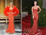 Runway To 2010 Vanity Fair Oscar Party - Katy Perry In Zuhair Murard Couture