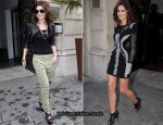 Cheryl Cole's Day & Night In Paris